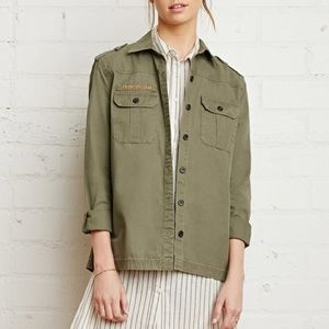 Forever 21 troop utility jacket